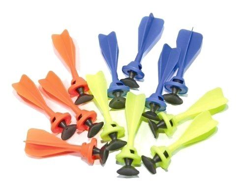 Toy Crossbow Suction Cup Sucker Darts 12 Pack Barnett Bandit / Bandito Ammo