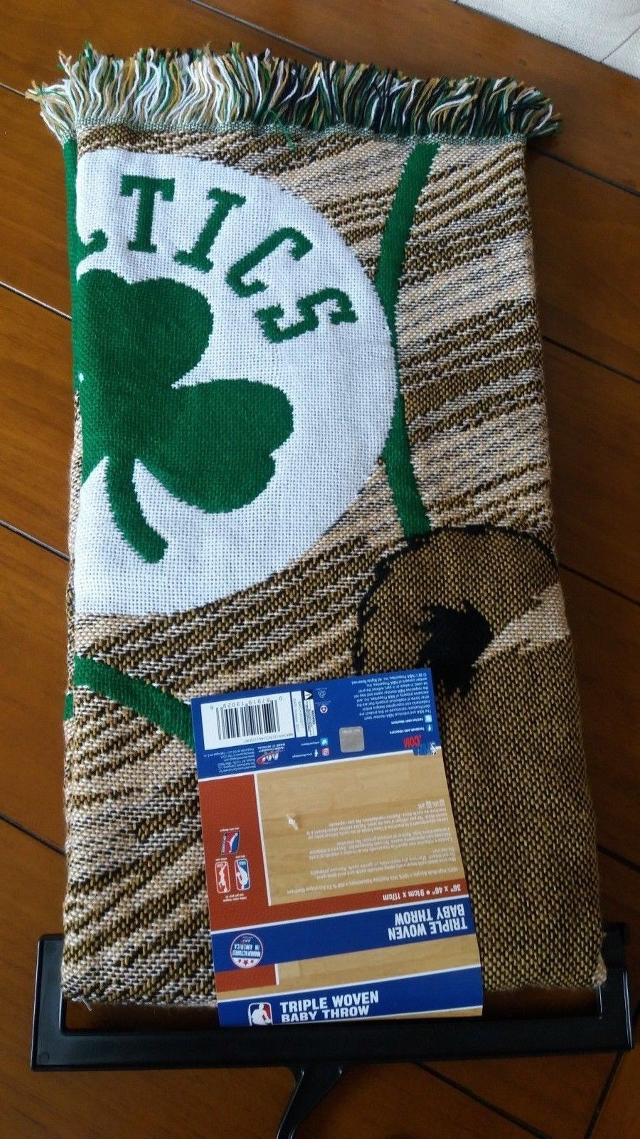 Boston Celtic Baby Blanket NBA Baby Soft Thick Afghan Throw Shower Gift 36