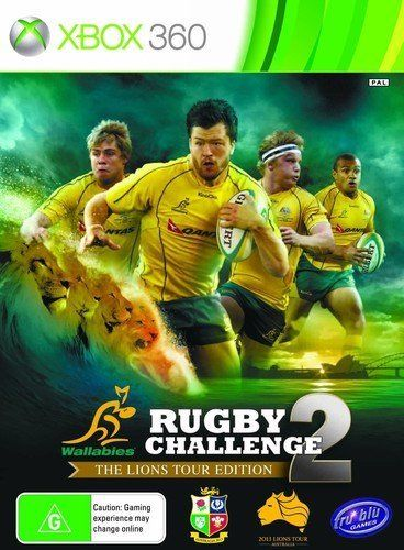 Rugby Challenge 2 The Lions Tour Edition Game Xbox 360 PAL RARE Australian Game!