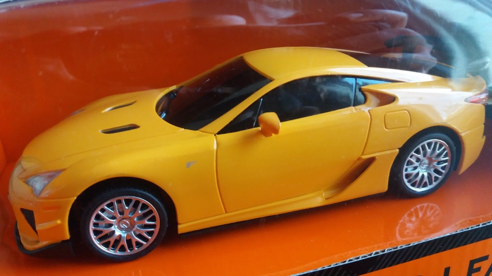 Lexus LFA Full Function Remote Control 1:24 Scale RC Yellow Braha BNIB FAST SHIP