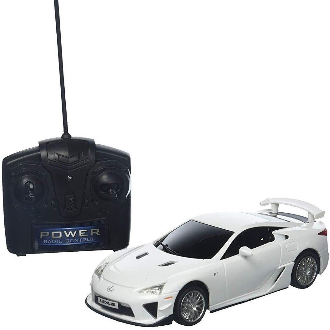 Lexus LFA Full Function Remote Control 1:24 Scale RC White Braha BNIB FAST SHIP