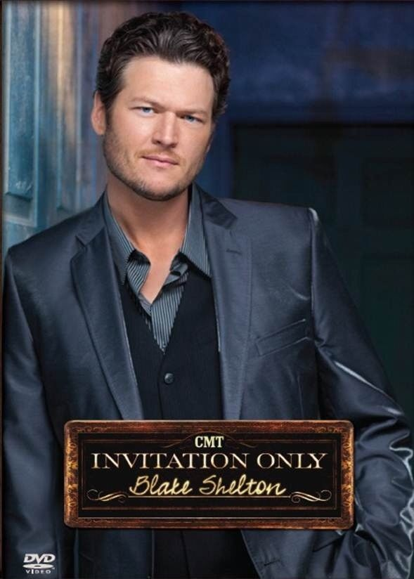 Blake Shelton CMT DVD Invitation Only Exclusive Limited Ed. 2012 The Voice Coach