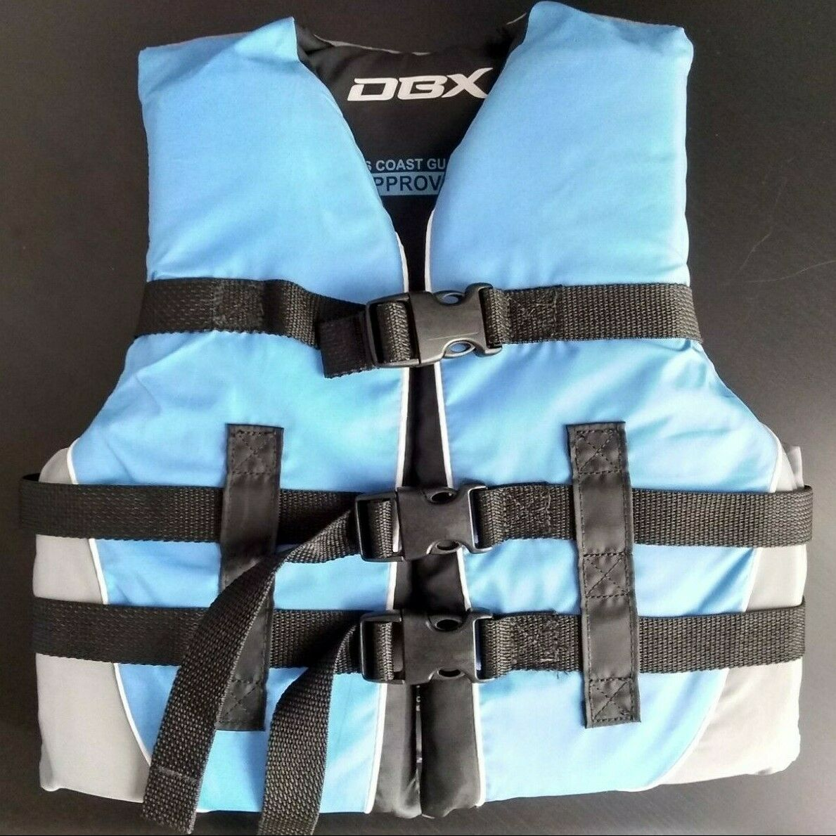 DBX Youth Kids Flotation Aid Life Vest Jacket Vest Size Youth 50-90 Lb Swim Boat