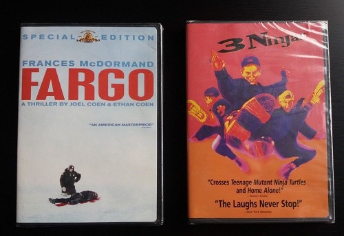 2 Brand NEW DVD Bundle LOT Fargo Special Edition & 3 Ninjas Factory Sealed